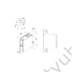 Grundfos CUE 1X200-240V IP55 1.1KW 6.6A körvonalrajz