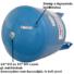 Kép 3/3 - Aquasystem VAV 100 hidrofor tartály